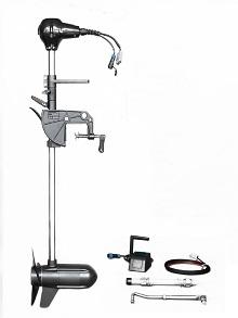 W platform - Brushless Electric Boat Motor, Steering Wheel Control